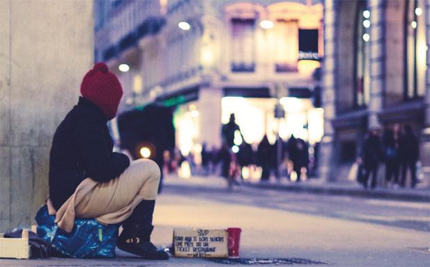Homeless image