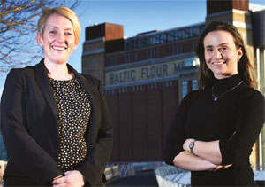 Becky Gaughan and Hannah Ives - Knight Frank - image