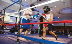 Rumble with the Agents charity boxing image