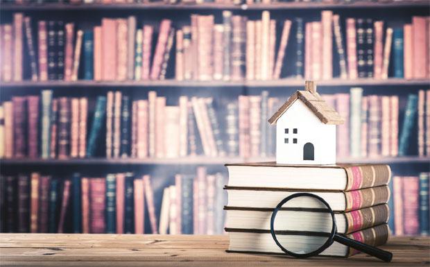 Law books - tenant fees - image