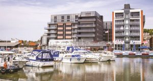 Lincoln waterside development image