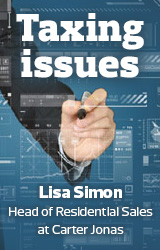Guest Blogs Taxing Issues for estate agents Lisa Simon image