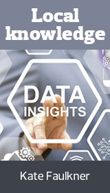Data insights with Kate Faulkner image