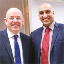 Richard Palfreeman, Director and Abraham Oommen, Senior Sales Manager image
