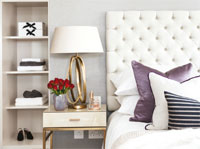 Professional photography - bedroom interior - image