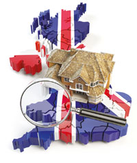 UK property market image