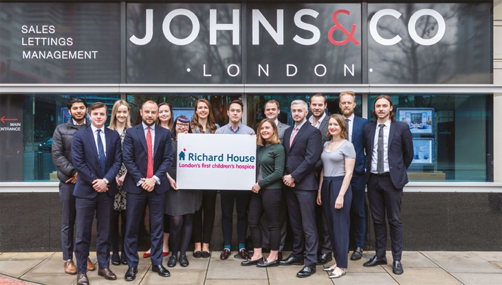 Link to JOHNS&CO charity news