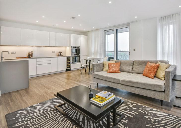 South London property interior image