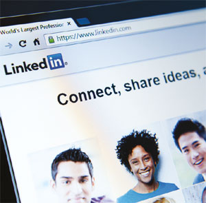Link to LinkedIn feature