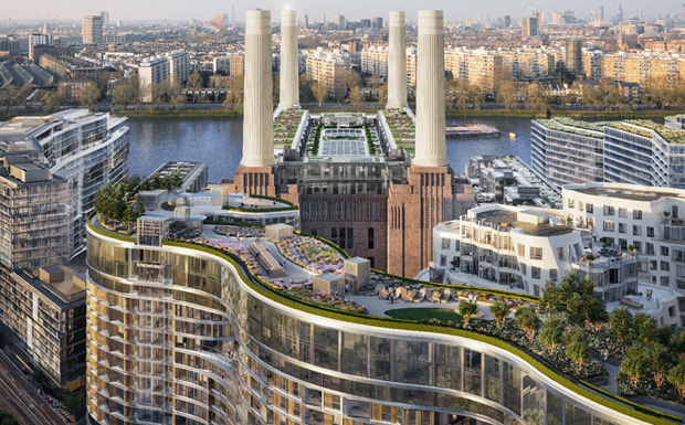 Stunning but running behind schedule, Battersea Power Station presses on