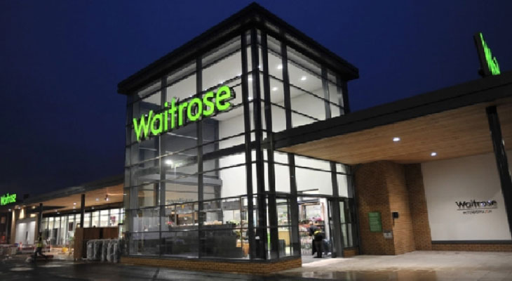 Link to news of Waitrose