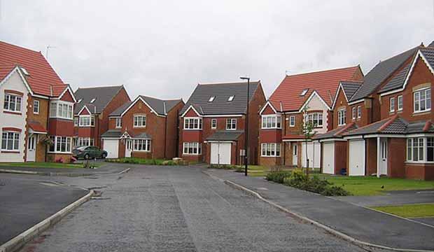 Housing estate repossessions image