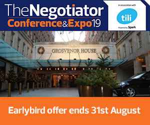 The Negotiator Conference Estate and Letting Agent Conference Residential Industry Conference Earlybird Ends image