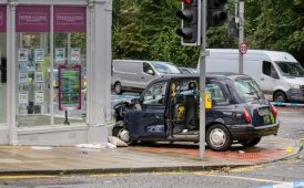 Edinburgh crash image