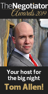 The Negotiator Awards Estate Agent and Letting Agent Awards Tom Allen Presents image