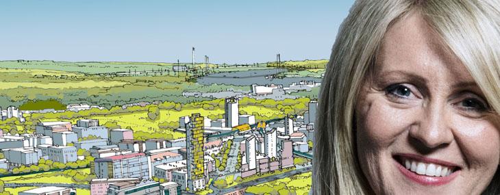 newbuild homes Esther McVey