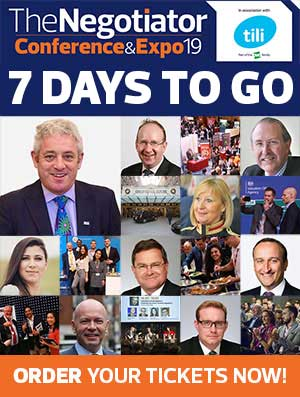 The Negotiator Conference and Expo 2019 7 Days to go image