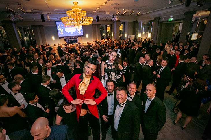 The Negotiator Awards Champagne Reception Greatest Show On Earth image