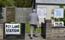 Polling station image