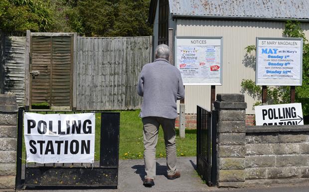 Polling station image