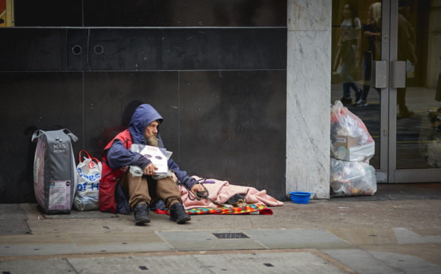 After years of industry fundraising for homeless govt chips in with £236m