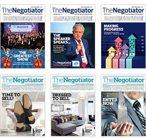 The Negotiator Magazine archive image