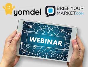 Brief Your Market - Yomdel webinar image