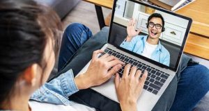 virtual viewings laptop