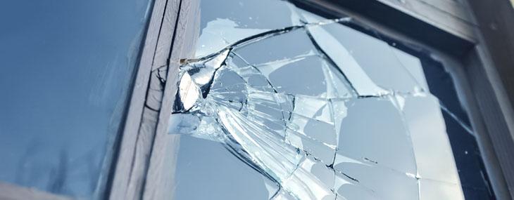 broken window rental deposit