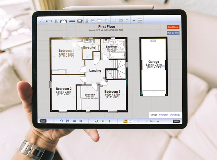Link to Floorplans feature
