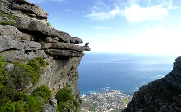 Cliff edge image