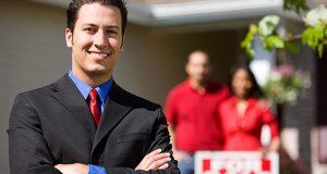 Estate agent for sale sign image