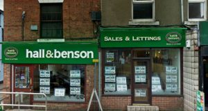 estate agency hall benson