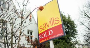 savills sign board