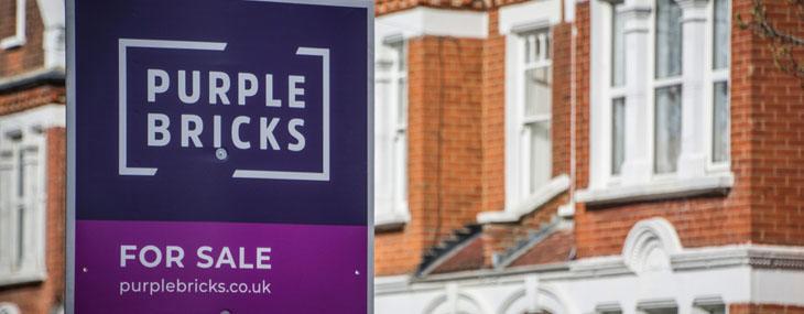 purplebricks sign
