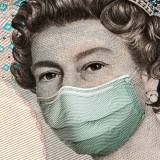 Queen wearing face mask image