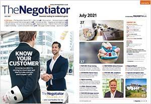The Negotiator Magazine cover Estate and Letting Agent News image