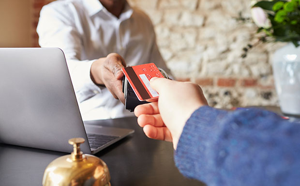 card payment property viewings
