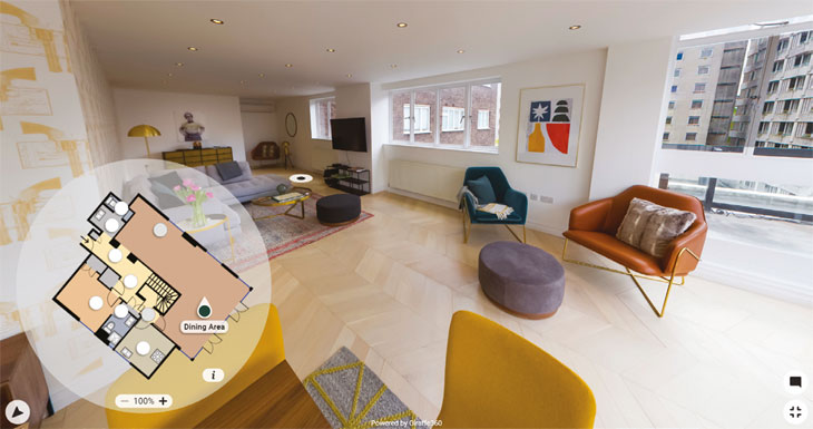 Link to Virtual Viewings feature