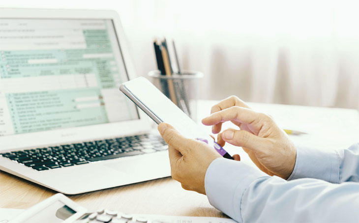 Link to Making Tax Digital feature
