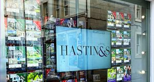 hastings window display halo