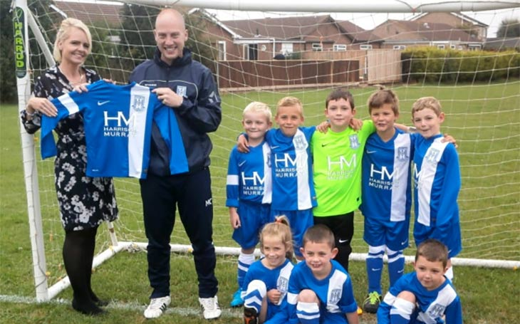 Harrison Murray and March Football School image