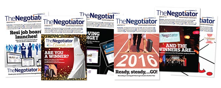 The Negotiator magazine covers image