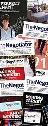 The Negotiator magazine rack image