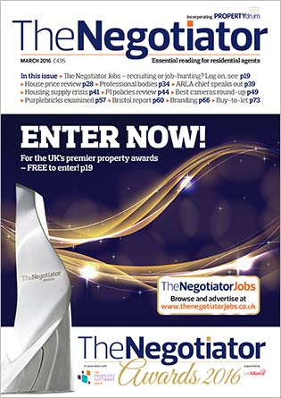 The Negotiator Awards issue image