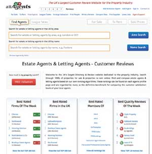 AllAgents website image