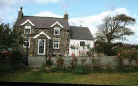 Anglessey Gwynedd Wales house