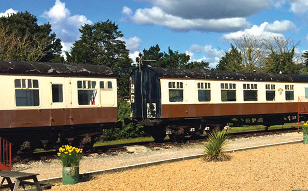 Brunel Caping Carriages holiday park image