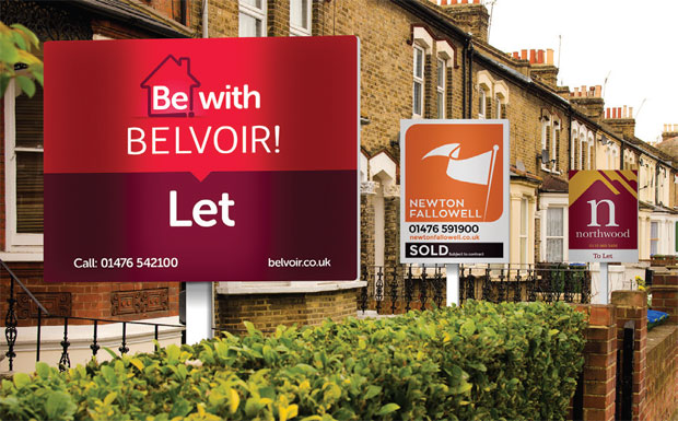 Belvoir signboard image