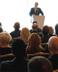 Brandon Lewis speaking at The Negotiator Conference image